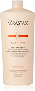 Kerastase Nutritive Bain Magistral Fundamental Nutrition Shampoo by Kerastase for Unisex - 34 oz Shampoo, 1000 ml