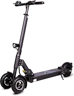 """RASSINÉ Patented """"Tri-Star"""" 3-Wheel Electric Kick Scooter with 8-Inch Wheels, 36V 15AH Battery, 350W Motor"""