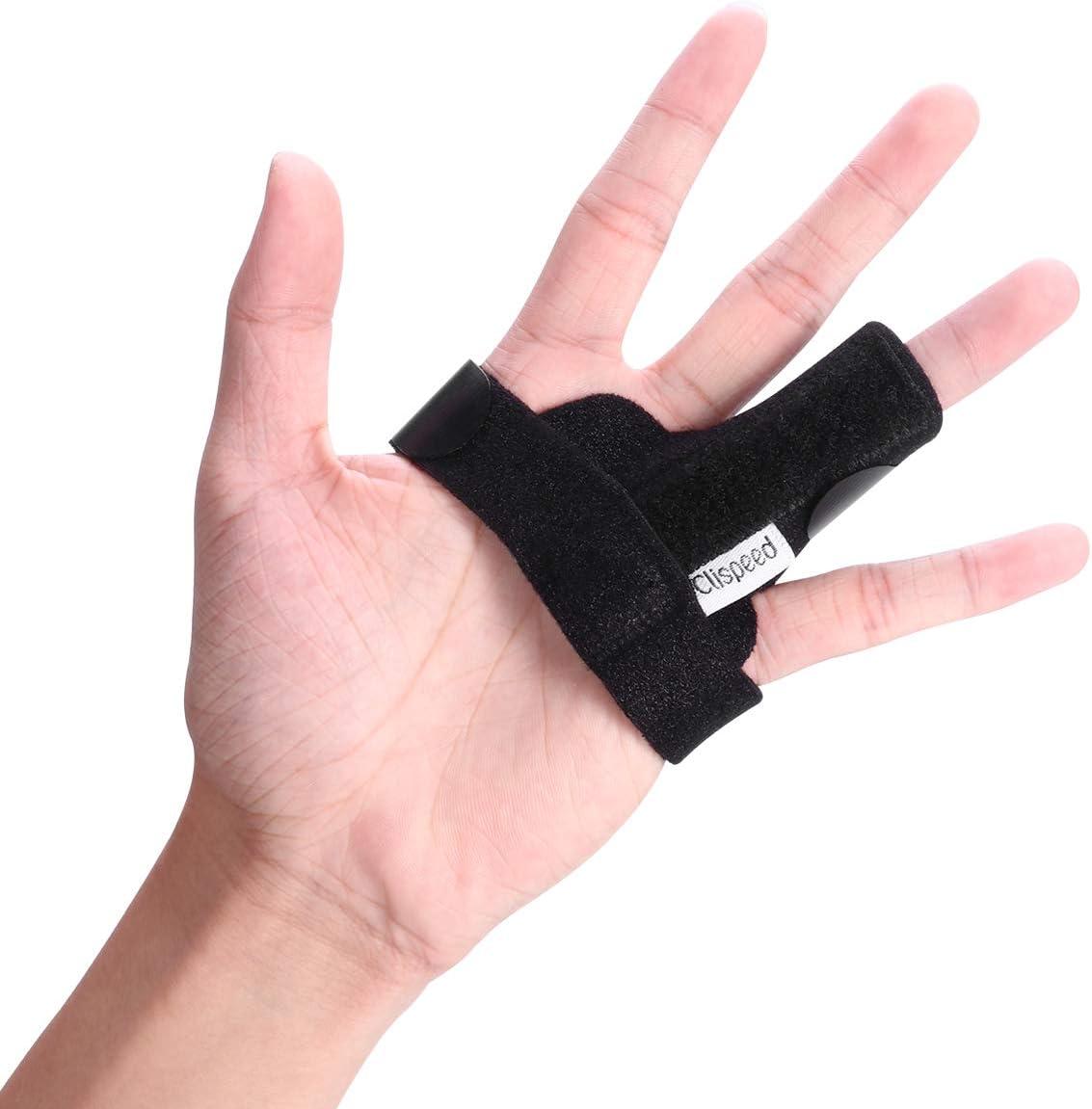 CLISPEED Trigger Finger Splint Brace Max 68% Special sale item OFF Finge Hands Adjustable Full