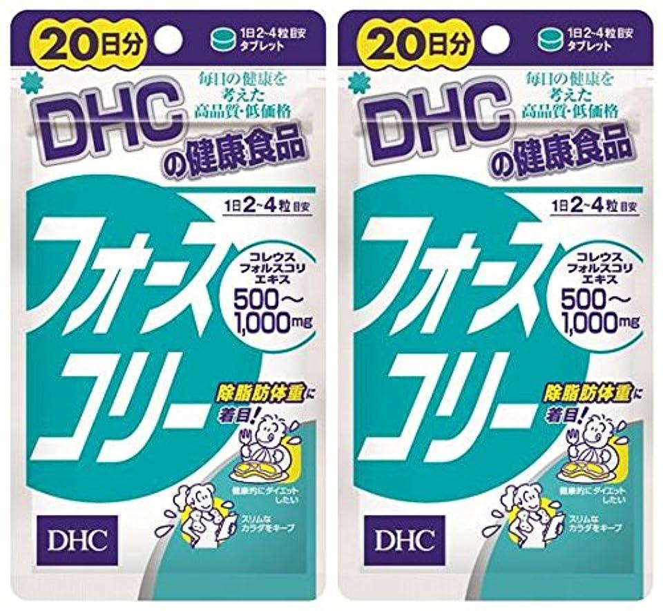 レンド差し引くあごDHC フォースコリー 20日分 80粒 ×2個セット