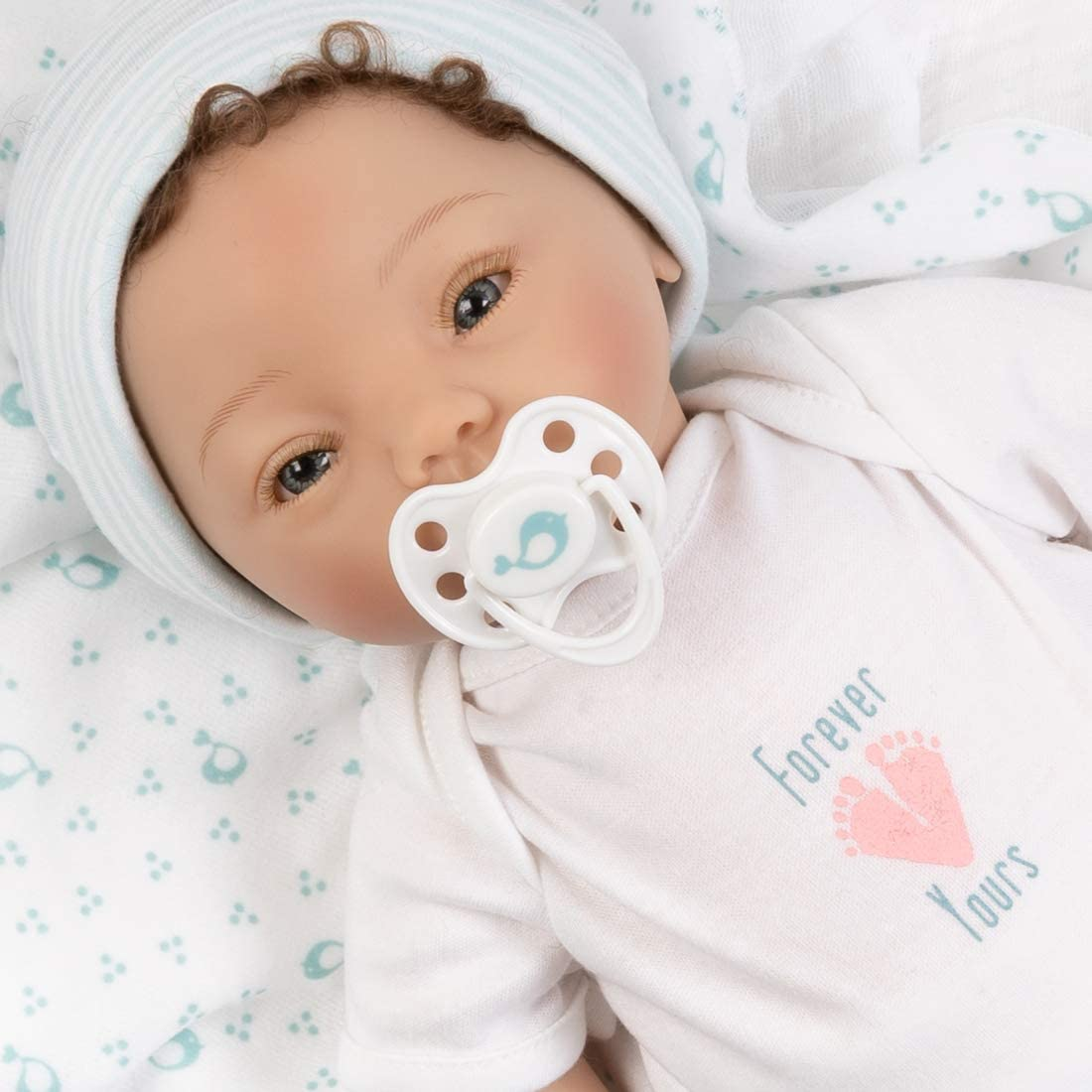 Paradise Galleries Realistic Popular products Newborn Baby Rooted H with Doll Boy Max 85% OFF