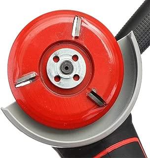 iplusmile Wood Carving disc Angle Grinder Wood Cutting Grinding Discs Tool Power Wood Grinder Attachment (red)