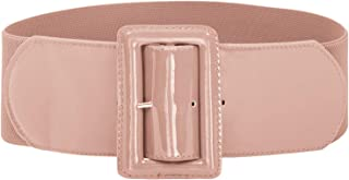 Hanna Nikole Women Elastic Stretchy Retro Wide Waist Cinch Belts