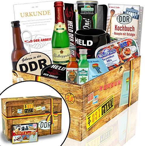 DDR Männer Geschenkbox XXL / Geschenk Box DDR / Geschenk für Freund Geburtstag