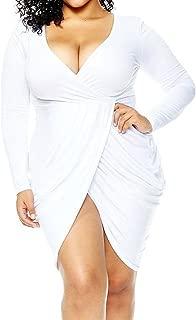 white bodycon dress size 16