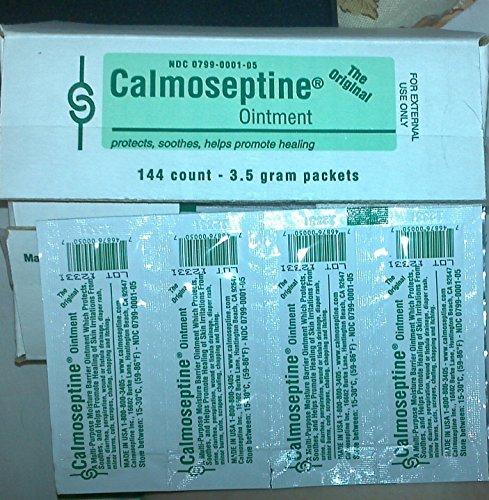 Calmoseptine Ointment Foil Packets 1/8 Oz 3.5G For Rashes And Irritated Skin - Case of 144