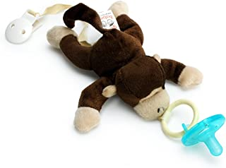 Paci-Buddy Monkey - Plush Pacifier Holder & Clip