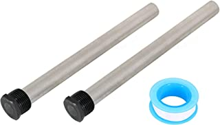 """Kai Range 2 Anode Rods For RV Water Heater - 9.25"""" Long 3/4"""" Thread - Fits Suburban & More-Flo Hot Water Heater Tanks 232767"""