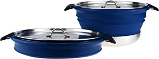 Dr. Si 3.8 Liter Collapsible Cooking Pot (Navy)