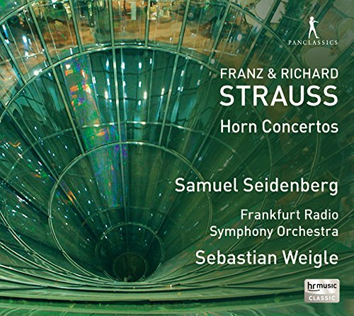 Strauss, F. Y Strauss, R.: Conciertos Para Trompa