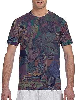 Animals Sleeve Shirts Printing Summer