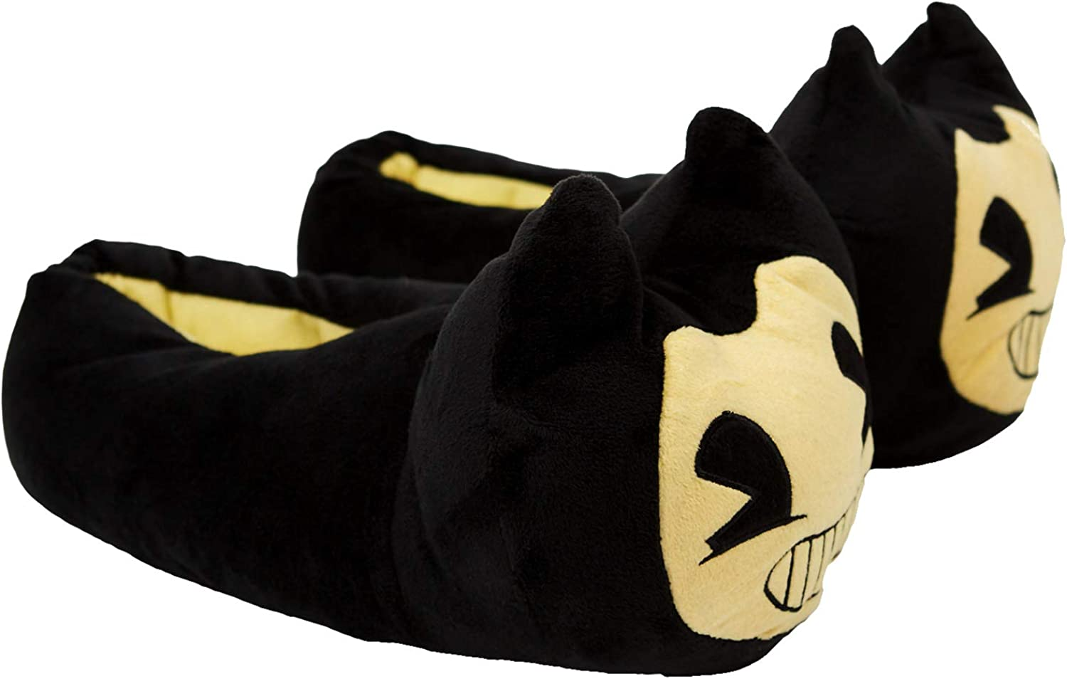 Bendy and the Ink Machine Slippers Slip Fort Worth Mall Now free shipping - Yellow Black