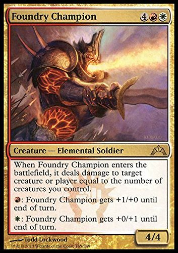 Magic The Gathering - Foundry Champion (165) - Gatecrash
