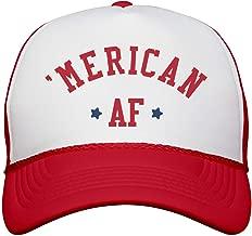 American AF Star Snap Back: Snapback Trucker Hat