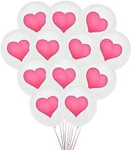 Gadpiparty 100 Stks 12 Inch Roze Hart Latex Ballonnen Voor Baby Shower Guirlande Bruiloft Foto Booth Valentijnsdag Boog De...