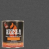 Stove Bright High Temperature Paint- Charcoal 16 oz