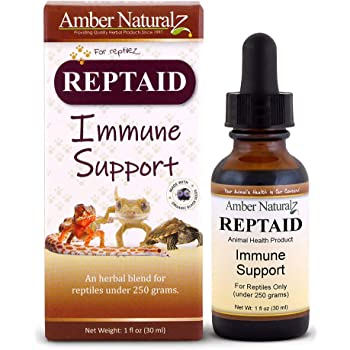 AMBER NATURALZ - REPTAID - Immune Support - for Reptiles Under 250g - 1 Ounce