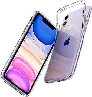 Spigen Apple iPhone 11 Kılıf Liquid Crystal / Crystal Clear 4 Tarafı Tam Koruma - 076CS27179