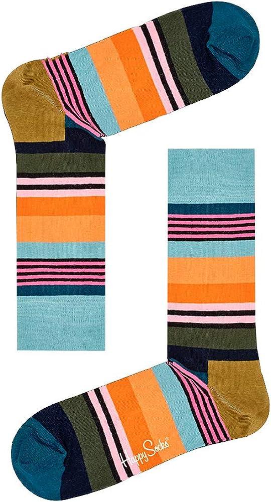 Happy Socks Men's Multi Stripe Socks