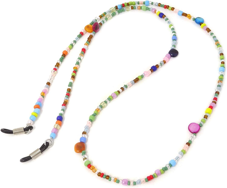 Honbay favorite 2PCS Colorful Beaded Eyeglass Sunglass Chain Cord Discount mail order Eyewear