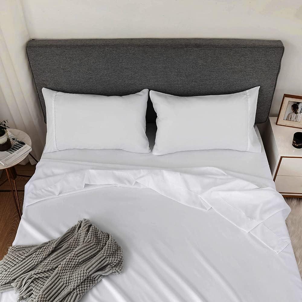 OFFicial site Emporiah Bed Sheets Queen Size 4 Soft Micr Super Sheet Set Piece NEW