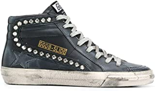 Golden Goose Luxury Fashion Donna GWF00115F00032390100 Nero Pelle Hi Top Sneakers | Stagione Permanente