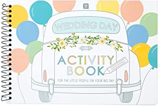Talking Tables BOHOBR-ACTIVITYBOOK Jeux de Mariage pour Enfants Livre d'activités pour Enfants