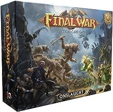 final war onslaught