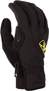 KLIM Inversion Men's Ski Snowmobile Gloves - Black/Large