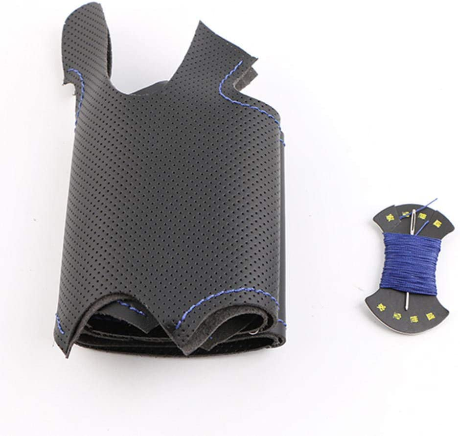 VIdisp Blue OFFicial It is very popular Marker Artificial Leather f Cover Steering Wheel Fit