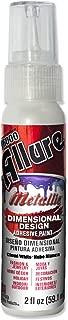E6000 57080234 734C Allure Metallic Dimensional Adhesive Paint, Cloud White, 2 fl. oz.