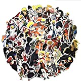 Naruto-Aufkleber, Anime-Cartoon-Aufkleber, wasserdicht, Sonnenlicht, ideal für Autos, Motorräder,...