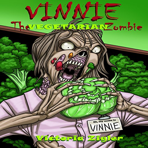 Vinnie the Vegetarian Zombie cover art