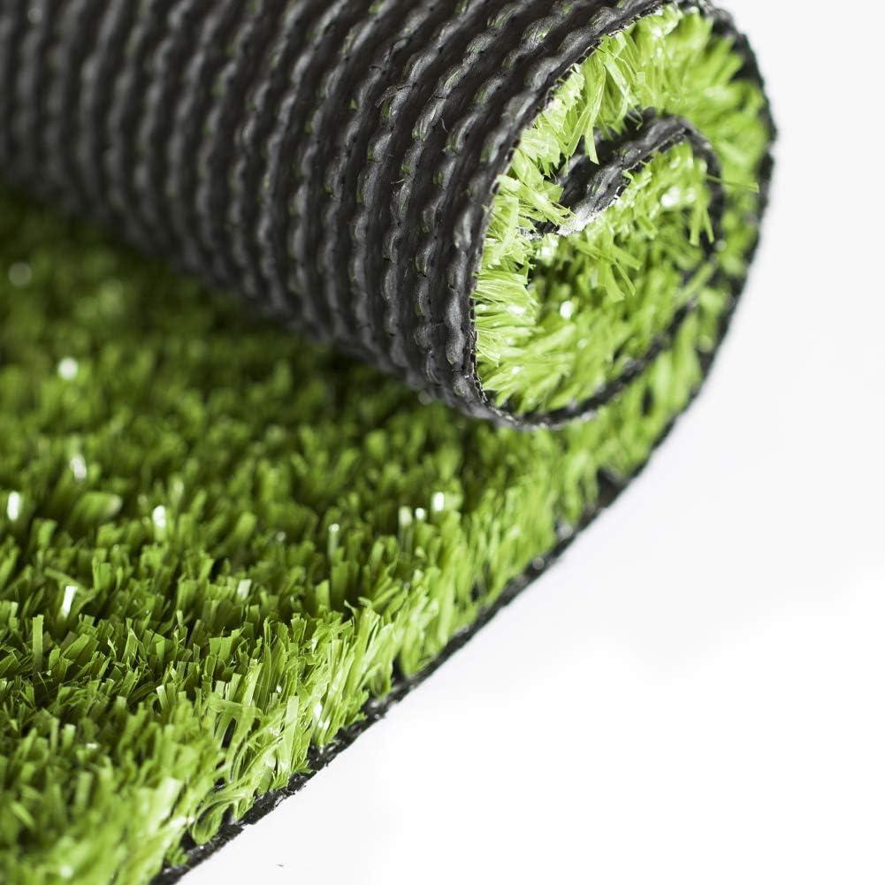 SunVilla Artificial Grass 1' x Mat 34' Rug Realistic セール価格 国内送料無料