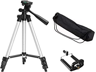 Liobaba Portable Flexible Telescopic Camera Tripod with Stand Holder Mount with Carry Bag for Mobile Phone Smart Phone Cam...