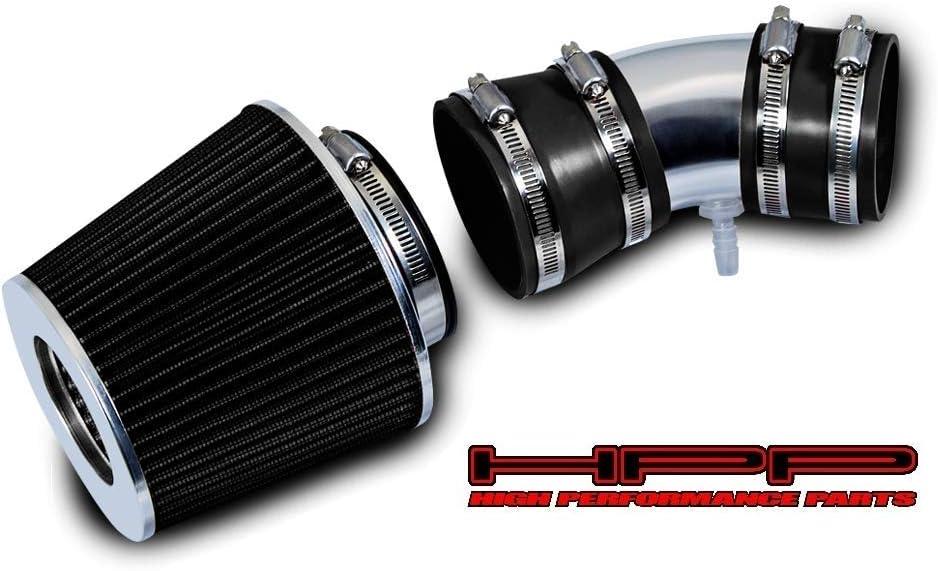 無料サンプルOK High Performance Parts Short Ram Air Kit C Filter Intake 新作 Black