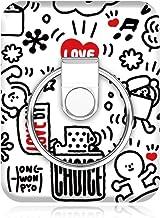 BUNKER RING Art Collaboration Limited【正規輸入品】マルチホルダー付属・各種スマートフォン対応落下防止・スタンド機能・着脱可能 (Hong Wonpyo2)