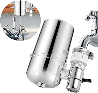 Jeeke Healthy Faucet Water Clean Purification Water Filter Purifier Filter Head for Home & Office & Kitchen Uses