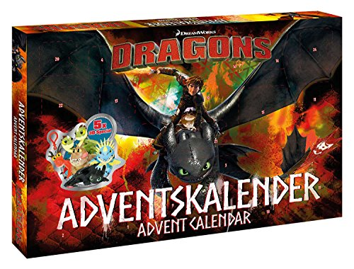 Disney- Dragons Calendrier de lAvent, 57323