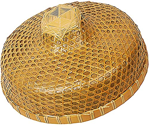 Sunny Hill Chinese Hand-Woven Bamboo Hat Medium-Sized Shade Outdoor Bamboo Hat