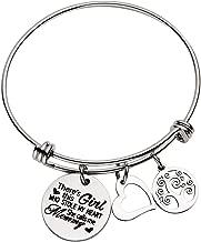 omodofo Inspirational Messaged Cuff Bracelet Bangle for Mother Grandmother Daughter