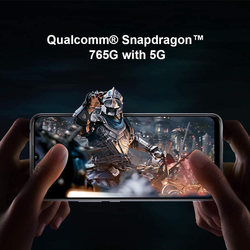 "Xiaomi Mi 10 Lite 5G Tel/éfono 6GB RAM 6,57/"" Pantalla de Color Verdadero Azul 64GB ROM 16MP Frontal y 48MP AI Quad C/ámara Trasera Versi/ón Global Procesador Snapdragon 765G Octa-Core"