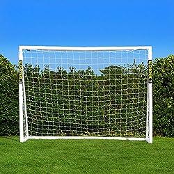wetterfestes extra stabiles Hudora Mega Goal XXL 3m 38mm Fußballtor