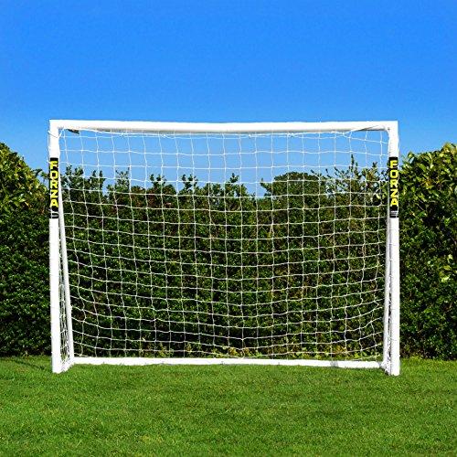 FORZA Fußballtore – die komplette Reihe – Tore mit einem Sperrsystem, Match Tore und Steel42 Tore (Tor mit Sperrsystem - 2,4m x 1,8m)