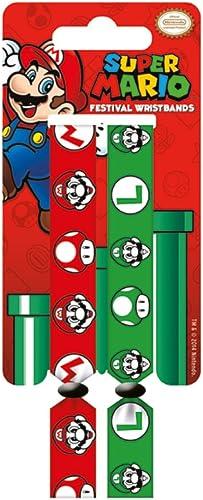 edición limitada en caliente Super Super Super Mario y Luigi Doble Festival Pulsera Set  barato en alta calidad