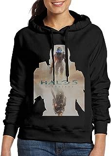 Curcy HALO MASTER CHIEF Hoodie Sweater WomenVisor Black