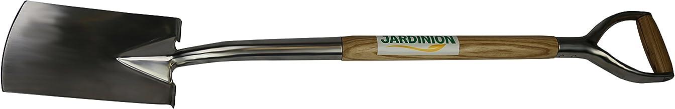 Jardinion Spade roestvrij staal Y-greep tuinman spade schop tuingereedschap