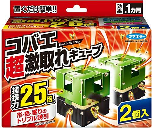 コバエ超激取れキューブ 2個入×5個