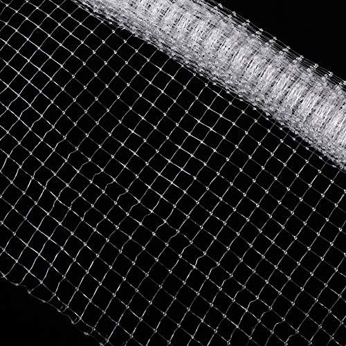 CCCYMM 2 x 2,2 m Aquarium-Netz, durchsichtiges Netz, DIY-Fischtank-Netz, Luftschutz, netz für Aquarium-Abdeckung