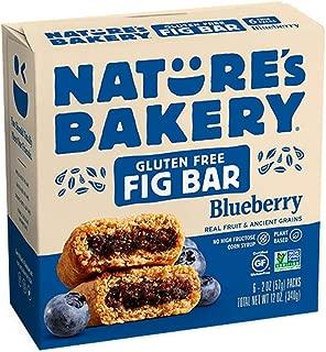 Nature's Bakery Gluten Free Blueberry Fig Bar, 340.2 g
